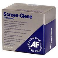 AF Screen-Clene Anti-Static Screen Wipes (100 Individual Sachets)