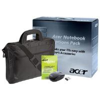 Acer 15.6 inch Gold Traveler Warranty Bundle: Include 3 Year Notebook Warranty Standard (1st year ITW) Collect and Return + Acer Traveler 15.6 inch Case + Black Wireless Optical Mouse with Nano Dongle
