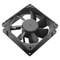 Akasa Black Fan (3-pin, 4cm)
