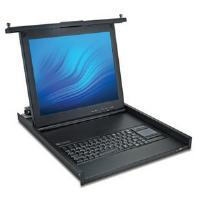 Avocent 1U 17-inch LCD Console Tray with USB Keyboard, Touch Pad and USB Pass-through