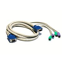 Avocent SwitchView Serial KVM Cable Kit PS/ 2 keyboard PS/ 2 mouse and VGA (6ft/ 1.83m)