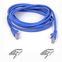 RJ45 CAT-5e Snagless Molded Patch Cable Blue 15m (49.2ft)