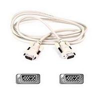 Belkin Cable VGA HDDB15 (Male to Male) Monitor Replacement Cable Gold 5m