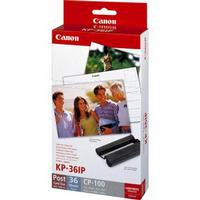 Canon KP-36IP (36 Photos) Cyan/ Magenta/ Yellow Ink Cartridge with 36 Sheets of Photo Paper