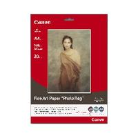 Canon FA-PR1 A4 Fine Art Photo Rag (20 sheets)