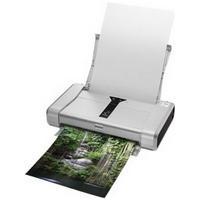 Bundle: Canon Pixma iP100 Colour Inkjet Printer with Battery