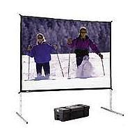 Da-Lite Fast Fold Deluxe Portable Screen HDTV Format Da-Mat 69 x 116 inch
