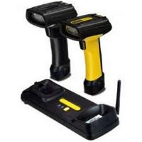 Datalogic PowerScan PBT7100 Industrial Handheld Linear Imager Barcode Reader with Bluetooth Wireless Technology With Pointer Includes Power Supply European Line Cord and Cable (Yellow/Black)