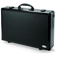 Dicota DataDesk Attache Case for Notebook and HP DJ 460/HP Officejet H470 Printer (Black)