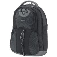 Dicota BacPac Style Backpack (Black/ Grey) for 15.4 inch Notebook