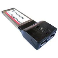 Dynamode PCMX2FW 2 Ports FireWire Card Adaptor for ExpressCard 34 Slot