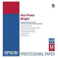 Epson Fine Art Hot Press Bright Paper Cotton Rag A2 330gsm (25 Sheets)