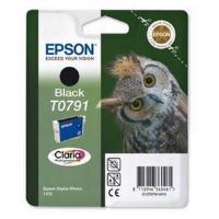 Epson T0791 Ink Cartridge - 11ml (Black) for Epson Stylus 1400 Printer - Blister with RF