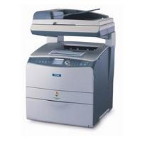 Epson AcuLaser CX11NF (A4) Colour Laser Multifunction Printer (Print/Copy/Fax/Scan) Base Model+Fax 128MB 2400 RIT 25ppm 180 Sheets with ADF (ESC/Page-Colour S)