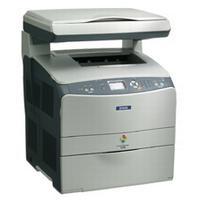 Epson AcuLaser CX11N (A4) Colour Laser Multifunction Printer (Print/Copy/Scan) Base Model 128MB 2400 RIT 25ppm 180 Sheets no ADF (ESC/Page-Colour S)