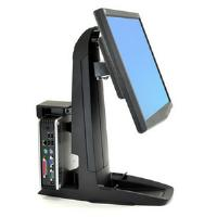 Ergotron Neo-Flex All-In-One Lift Stand with Secure Clamp CPU Holder (Black)