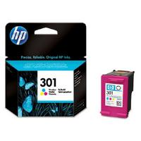 HP 301 (Yield 165 Pages) Tri-Colour Ink Cartridge (Cyan, Magenta, Yellow)