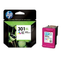 HP 301XL Tri-Colour Ink Cartridge Cyan, Magenta, Yellow (Yield 330 Pages)