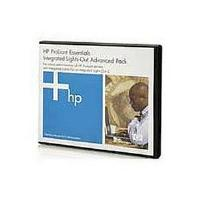 HP Integrated Lights Out (iLO) Advanced Pack Electronic License with 1 Year 24x7 Technical Support and Updates