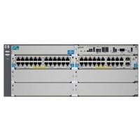 HP zl Series E5406-44G-PoE+/2XG-SFP+ Network Switch with Premium Software
