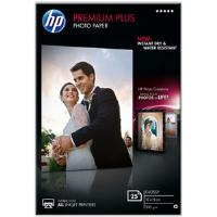 HP Premium Plus (10 x 15cm) Glossy Snapshot Photo Paper (25 Sheets) (White)