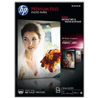 HP Premium Plus (A4) Semi-Gloss Photo Paper (20 Sheets) (White)